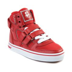 YouthTween Vlado Knight II Athletic Shoe in Red White at Journeys Kidz ...