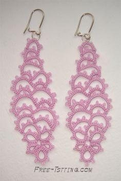 tatted earrings pattern free