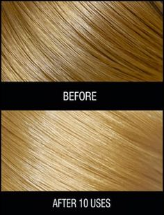 To boost natural blonde hair color, try this chamomile hair mask.