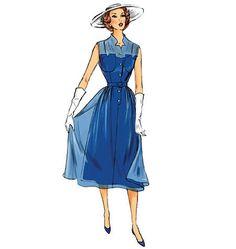1950s Inspired Summer Dress Sewing Pattern by MissBettysAttic