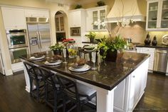 #Kitchen Idea of the Day: Gourmet Kitchens.