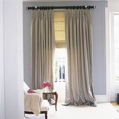 long silk curtains, idea, window curtains, draped curtains valance, bedroom decor, window treatment, drop curtain, master bedrooms, building a house