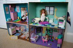 Kid's Crafts: Homemade Barbie Box House
