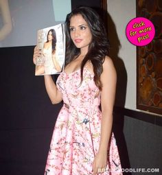 A leading men's magazine's new issue launched by its cover girl Richa Chadda-viewpics!  #RichaChadda