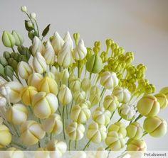 The Petalsweet Blog - flower bud tutorial