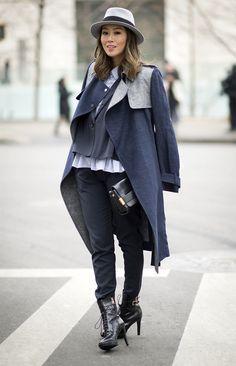 Menswear Inspired Fashion