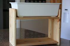 DIY sensory table - IKEA hack
