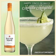 Celebrate Cinco de Mayo with a festive Moscato Margarita! http://ow.ly/wuXFO