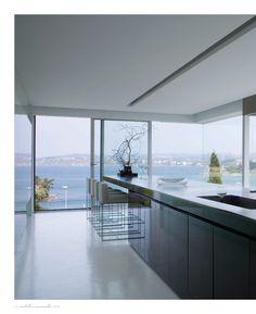 Kitchen #glass #modern #cool #top #best #design #love #inspiration #simplicity #minimalism #minimal #prefab #prefabhouse #house #concrete #white