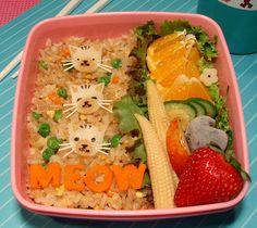 Fun #kitty #cat themed #bento #lunch! || #LittlePassports #cute #food for #kids