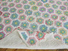 garden quilt, piec quilt