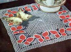 Butterfly Night Table Doily Free Crochet Pattern