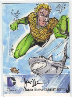 DC The New 52 Sketch Card Cruddie Torian | eBay