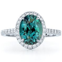 Alexandrite-This unique and highly desired gemstone  reflects colours that change with the light,  rich and powerful green when the sun touches  it and deep red with the light of night.