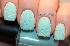 ball, blue, ice nail, nail arts, coat nail