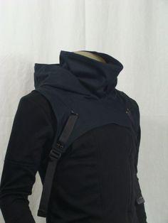cruisingwithgunhead:  steampunkfan:  Wasteland Cowl- V2-Black by Crisiswear (60.00 USD) http://ift.tt/1eCMRpK  I've seen a guy actually wear... 6000 usd, wasteland cowl