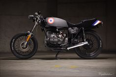 1983 BMW R65. I have considered a vintage WWII armed forces look and this bike is another tally on that mental checklist.