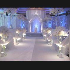 Wedding ceremony decor events
