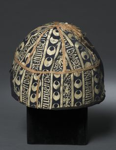 Cap  Egypt or Syria, Mamluk period, probably sultinate of Nasir al-Din Muhammed, 1293-1341  Medium: lampas weave, silk  Accession No.: 1985.5
