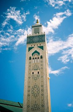 Hassan II mosque in