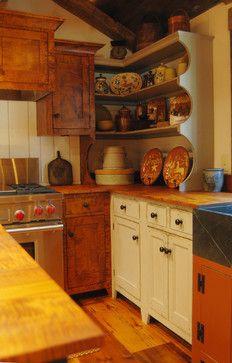 Central Kentucky Log Cabin Primitive Kitchen kentucki log, smith design, cabin kitchens, log cabins, david, cabin primit, country kitchens, primit kitchen, primitive kitchen
