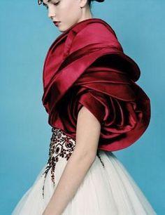 McQueen Rose sleeve