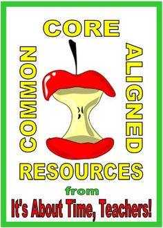Resources that are CCSS aligned ... to save you time!  http://www.teacherspayteachers.com/Store/Barbara-Evans/Category/CCSS-Aligned