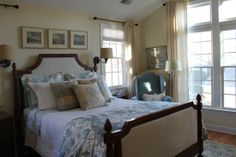 Our bedding! Sydney Palampore by Pottery Barn... decor inspirations to match. Pretty.