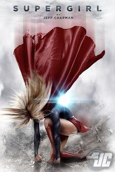 Supergirl | Artist: Jeffach [dA]