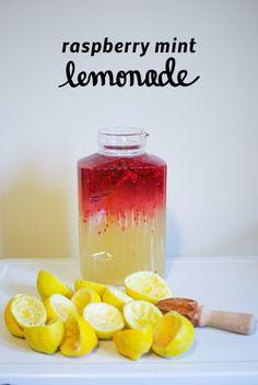 raspberry mint lemonade.