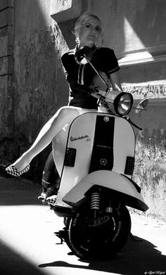 girl on scoot