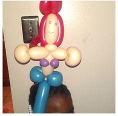 Ariel balloon character #ariel #the little mermaid  #balloon #character #sculpture #twist #art