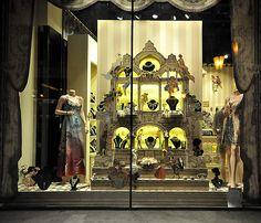 Beautiful store window Budapest