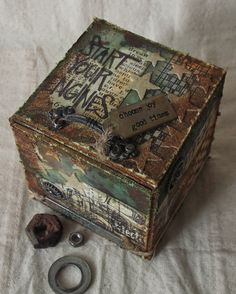Hip to be Square at Frilly and Funkie - Tim Holtz August 2014 version