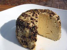 Raw Cashew Cheeze au Poivre (scroll down)