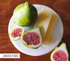 Green figs + gruyere