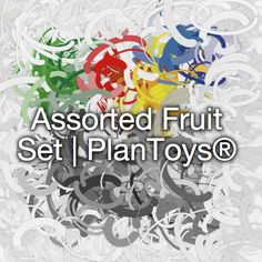 Assorted Fruit Set | PlanToys®