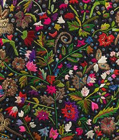 Hungarian embroidery   late 19th century