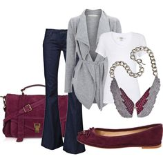 """""""Fall Plums 2"""" by anne-ratna on Polyvore"""