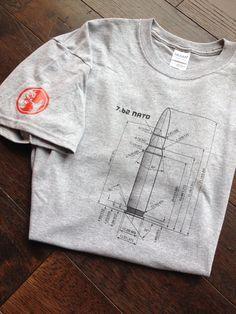 Silkscreened 7.62 NATO Bullet Caliber Tee Shirt by 30CalGal, $25.00
