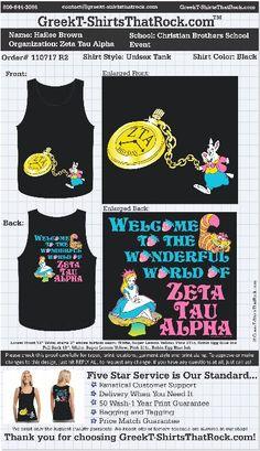Crazy Zeta Tau Alpha Bid Day shirt! :P http://www.greekt-shirtsthatrock.com
