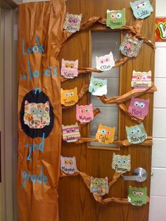 Singularly Sensational Second Grade. Rach, what do you think about this? We could use different types of paper for the owls.