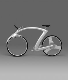 Actually looks like a crouching rider // Road Bicycle Concept ▶▶▶ Par Iron Pyrite