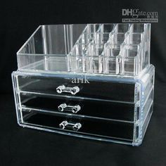 Makeup organizer....I want one of these!