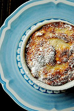 Warm Banana Souffle