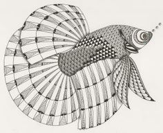 Betta Fish  Template van Ben Kwok Adri