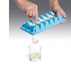 quicksnap ice cube tray. ridiculously unnecessary, but so clever.