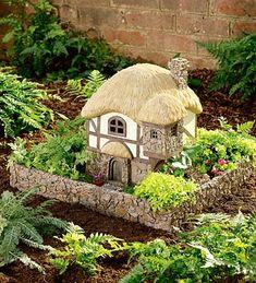 Fairy Gardens within a garden