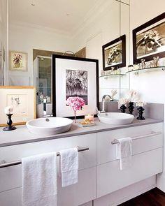 bathroom as a jewelry box