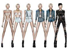 Roberto Cavalli Designs Actual Clothes for Miley's 'Bangerz' Tour